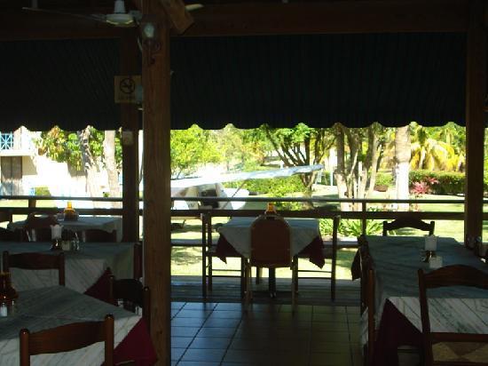Parador El Faro: En el restaurante