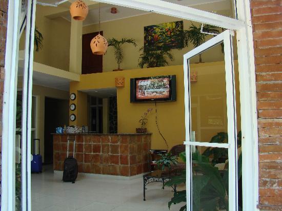 Hotel Alcaldeza: Lobby.