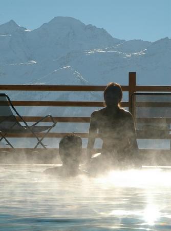 Le Chalet d'Adrien : La piscine du chalet d'adrien