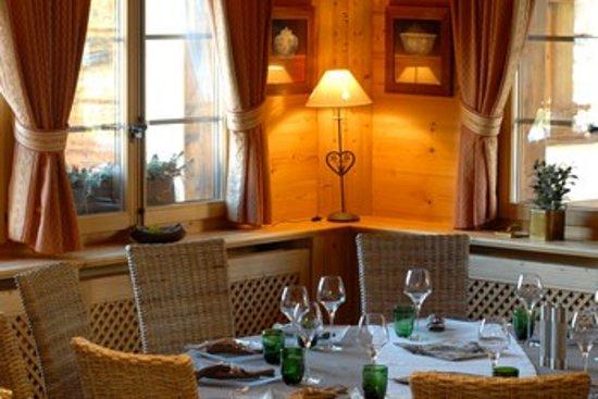 Le Chalet d'Adrien: La Table d'adrien restaurant etoilé