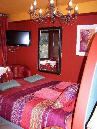 Baert Bed & Breakfast: Rode kamer