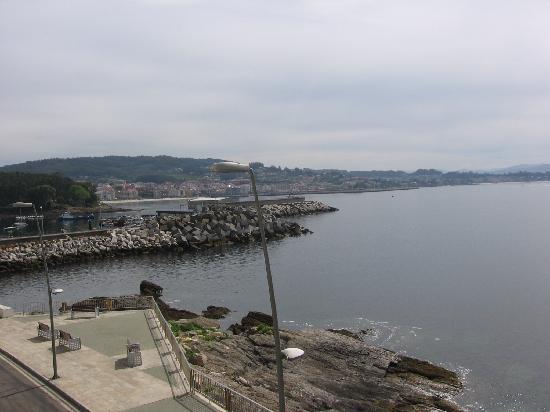 Hotel Siroco: Vista desde la ventana