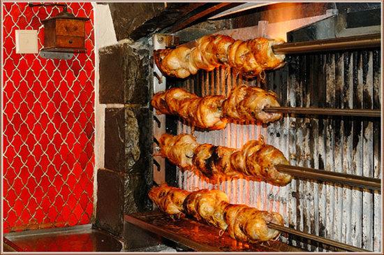 Auberge de Dully: chicken