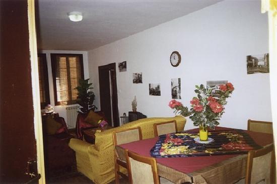 Residenza Maddalena: living room/common room