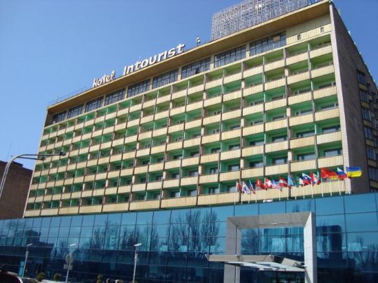 Intourist Hotel Zaporozhye: Luxus Bunker 4*
