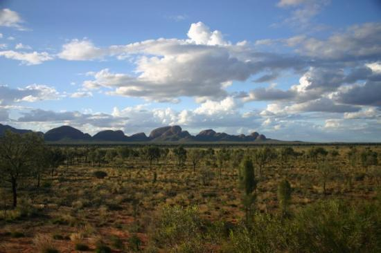 Ayers Rock and the Olgas: Kata Tjuta