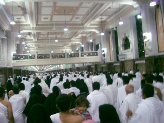 Medina, Saudiarabien: 3rd time Sa'i Condition still crowded