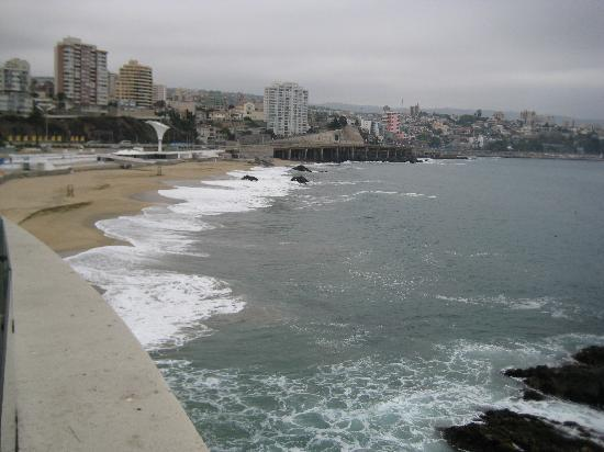 Casablanca, ชิลี: Vina Del Mar/Valparaiso our room Balcony @ Sheraton