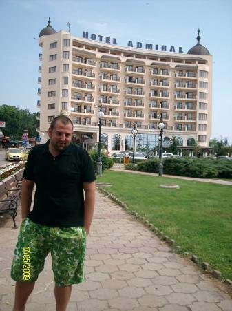 Hotel Admiral: bulgarian Boarwalk, Golden Sands, BG