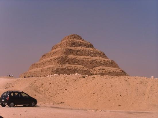 Step Pyramid of Djoser: The step pyramid