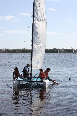 Club Med Sandpiper Bay: Sailing