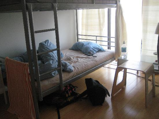 ZIP112 Hostel: One of two 4-bed rooms
