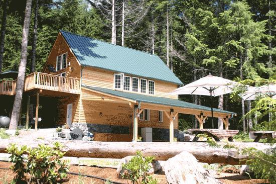 Copper Creek Inn Forest Retreat Is Great For Family Gatherings Retreats Weddings