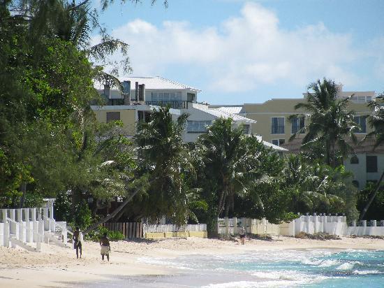 SeaFoam Haciendas: beach infront of hotel