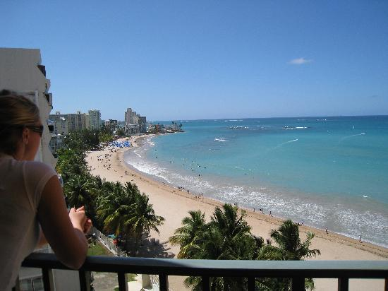 Isla Verde, Porto Rico: View from our room