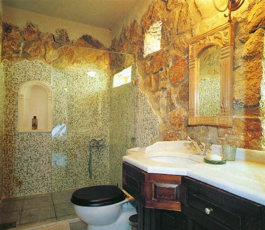 Antik Zeytin Hotel & Art: Room WC