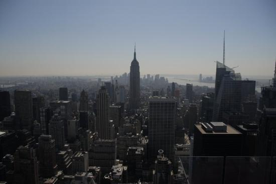 Lower Manhattan - view from GE building