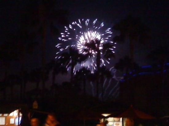 La Mirada, CA: More Disneyland fireworks!