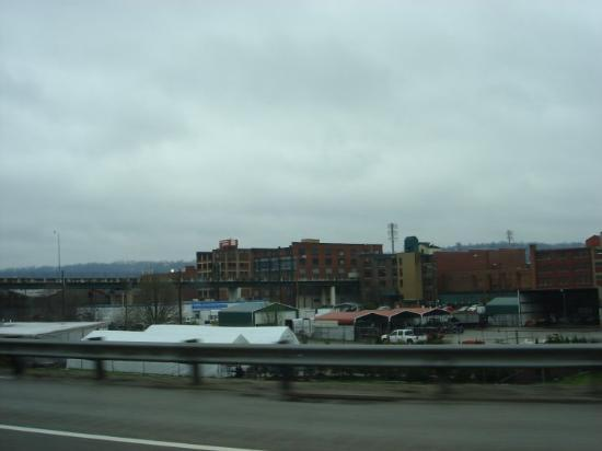 Charleston, WV: Some of the 'older-feeling' buildings. Maybe it's just how short they are (I'm accustomed to ver