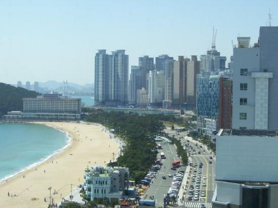 Busan, Corea del Sur: The view from my window.