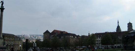Stuttgart, Württemberg. New Castle.