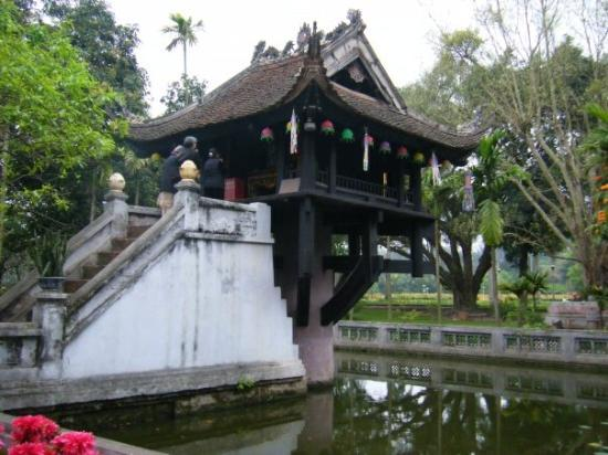 Bilde fra One Pillar Pagoda
