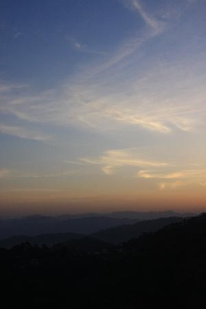 Kasauli, Indien: Sunrise in Ksauli