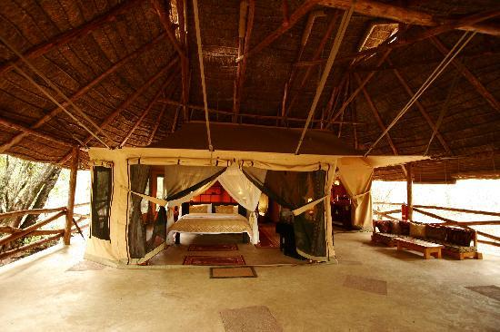 Mara Timbo Camp: Our Private Tent/Room #1