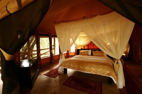 Mara Timbo Camp: Romantic Room