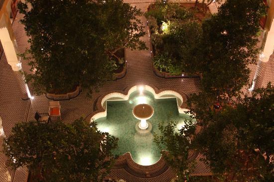 Palais Amani: Photo Jardin intérieur