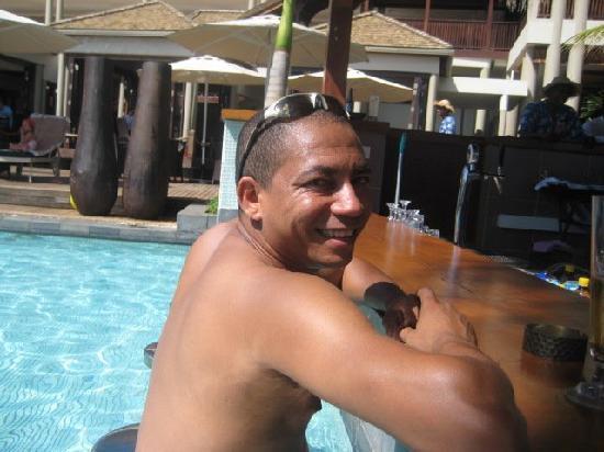 InterContinental Mauritius Resort Balaclava Fort: pool bar