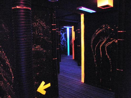 Lazer Force Lazer Tag Zone: Arena Different area