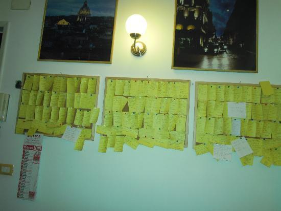 Bed & Breakfast Angolo Romano : tutti i biglietti di ringraziamento per Gianfranco