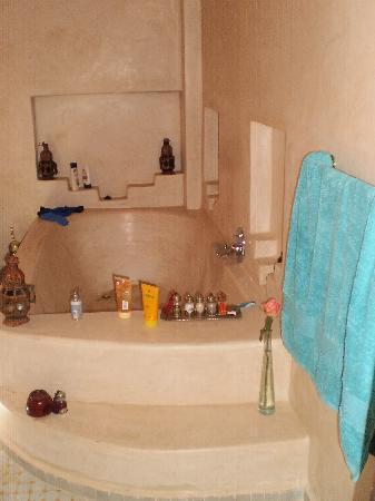 Riad Chbanate: la grande baignoire