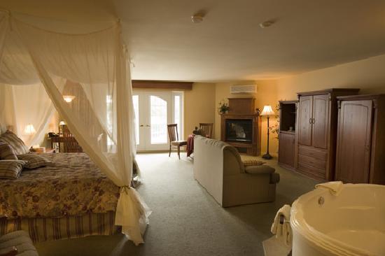 Le Manoir du lac William: Suite de luxe