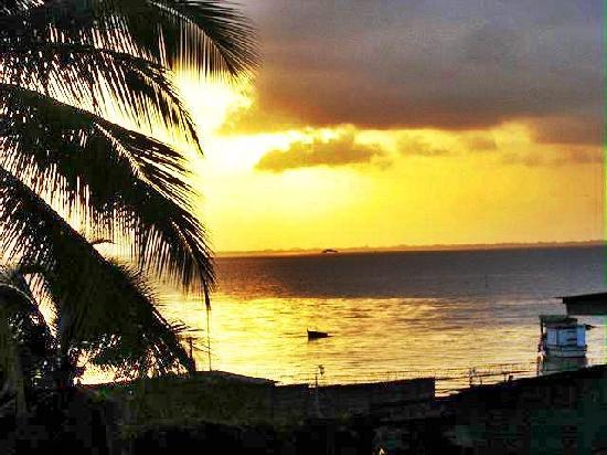 Bluefields, Nicaragua: Sunset from the hotel