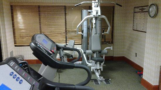 Courtyard by Marriott Newburgh Stewart Airport: The Gym
