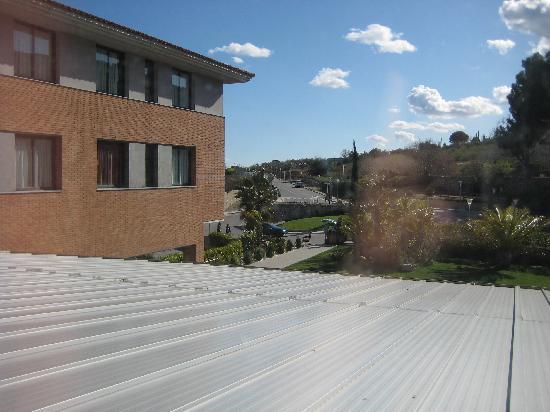Sercotel La Selva: vistas desde la ventana de la habitación