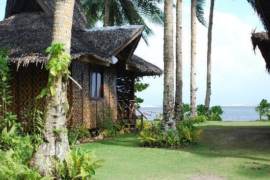 Siargao Inn: Nice but simple Nipa houses