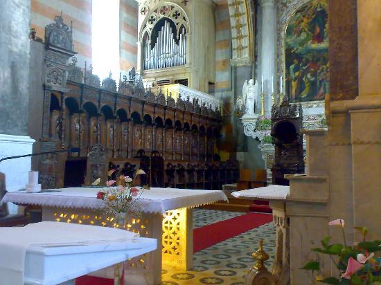 Altamura, Italien: pulpito