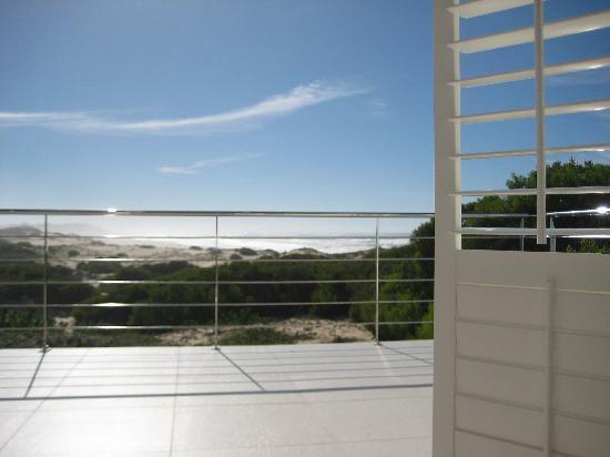Moya Manzi Beach House : Blick aus unserem Zimmer