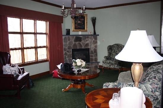 Stroudsmoor Country Inn: Living area