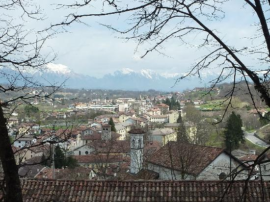 Feltre - view from the castle