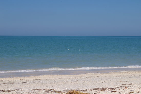 the gulf of mexico at casey key picture of on the beach. Black Bedroom Furniture Sets. Home Design Ideas
