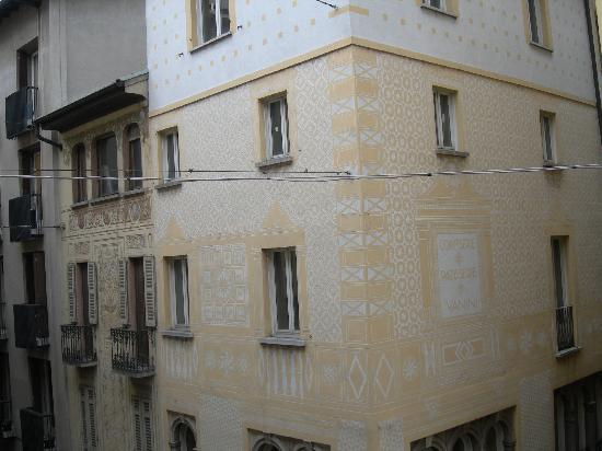 Hotel San Carlo Garni: vista dalla camera