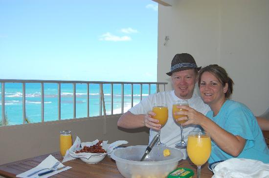 Playa Azul: Breakfast on the Balcony