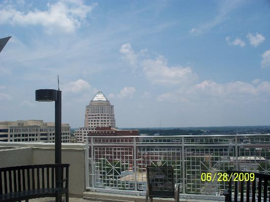The View For Our Wedding Day D Picture Of Holiday Inn Charlotte Center City Charlotte