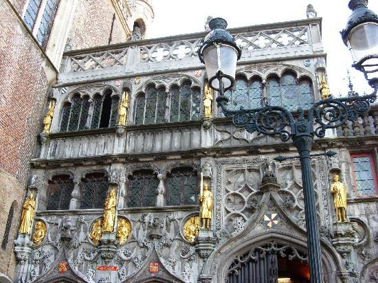 Heilig-Blut-Basilika (Heilige Bloed Basiliek): Basilica of the Holy Blood - The beautiful exterior