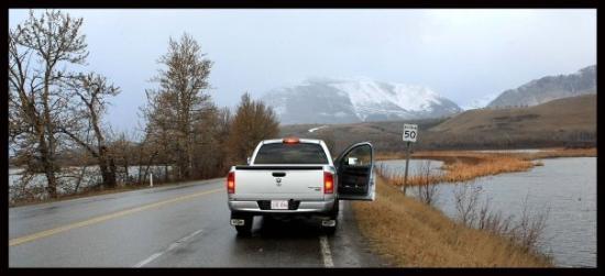 Waterton Lakes nasjonalpark, Canada: Waterton National park in the Canadian Rockies....- pic Scott Powick..