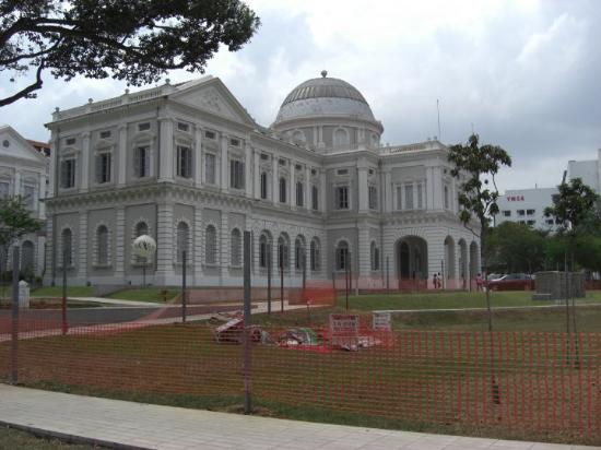 Nasjonalmuseet i Singapore: The National Museum of Singapore - probably used to be a big nob's house